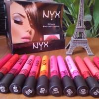NYX 24 HOURS BLACK LABEL MATTE LIPGLOSS -Casing Mirip Menow / 3D Tint