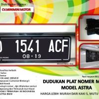 Jual PROMO Dudukan plat nomor Mobil Model Astra 65.000 menjadi 45.000 saja. Murah