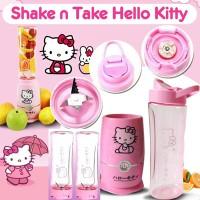 Jual Shake n Take Hello Kitty 2 cup/gelas Juicer Blender Kitty Blend and Go Murah