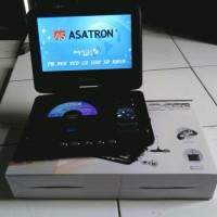 harga DVD Portable + TV ASATRON 9