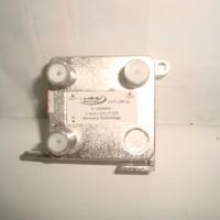 Splitter 2 Way untuk TV Kabel Kaonsat CATV-2W (Frekuensi 5-1000 MHZ)