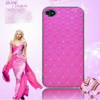 harga Ultrathin Hard Case For Iphone 5 5s Metal Bling Luxury Diamond Pink Tokopedia.com