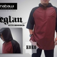 Koko Reglan With Hooded Maroon