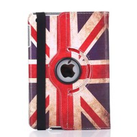 harga iPad Air 2 Rotary Standing Leather Case iPad 6 Motif Bendera Inggris Tokopedia.com