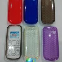 Nokia 1280 N103 - Silicon Case Cystal Manik