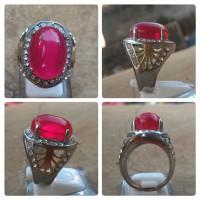 harga Batu Merah Siam (86) Ring Titanium Tokopedia.com