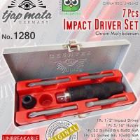 Obeng Ketok Set 7 Pcs / Impact Driver Set 7 Pcs TJAP MATA 1280