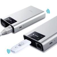 harga Portable 3g Wifi Router Power Bank 7800mah Usb Flashdisk Media Sharing Tokopedia.com