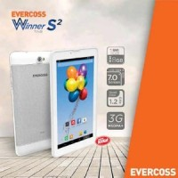 EVERCOSS AT7J+ WINNER Tab S2,QuadCore, RAM 1Gb, ROM 8Gb, Cam 3Mp+1,3Mp