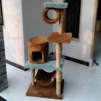 harga Cat scatching/garukan kucing/cat condo/mainan kucing Tokopedia.com
