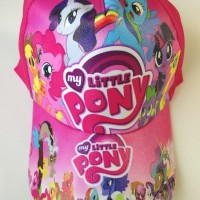 Topi Anak My Little Pony Frozen Princess Barbie Masha Sofia HelloKitty