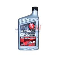 Kendall GT-1 High Performance 10W40 Liquid Titanium