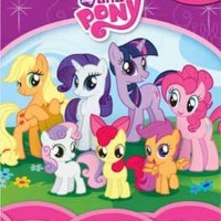 harga My Busy Book My Little Pony includes a Storybook, 12 Disney Figurin... Tokopedia.com