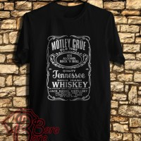 Motley Crue Pentagram Logo 3nd Kaos | Tshirt | Distro