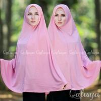 Basic Khimar Jersey Jeruk By Qalisya Hijab