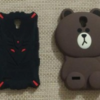 Xiaomi Redmi Note 3G / 4G brown stitch transformer totoro silicon case