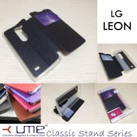Ume Classic View Leather Case Lg Leon