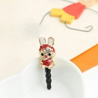 harga Rabbit Red Dustplug / Pluggy / Gantungan Hp Tokopedia.com