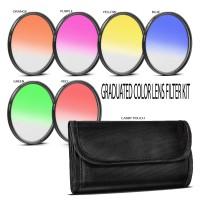 Gradual Effect Color Filter Set 58mm [6filter]