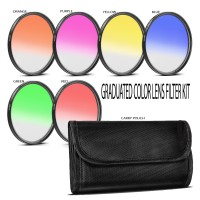 Gradual Effect Color Filter Set 52mm [6 Filter]
