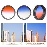 Gradual Effect Color Filter Set 55mm [6filter]