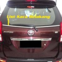 List Kaca Belakang All New Avanza Xenia + Packing Kayu