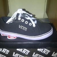 Sepatu Kets Casual Anak, VANS ASC Tg Black White. (Replika KW Super )