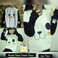 ROUND HAND PANDA FLEECE / ROUNDHAND PANDA SWEATER / JAKET FLEECE