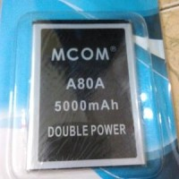 Baterai Mcom Evercoss A80A Elevate Y2 Dobel Power 5000mah