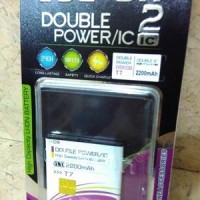 Baterai Cross Evercoss T7 TC2 Dobel Power Log On 2000mah