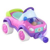 Bright Starts Having a Ball Pop and Roll Roadster PINK