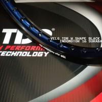 harga Velg Tdr W Black Blue 140 - 160 / 17 Tokopedia.com