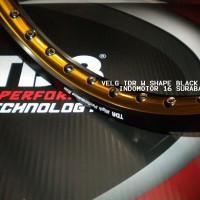 harga Velg Tdr W Black Gold 140 - 160 / 17 Tokopedia.com