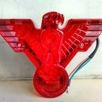 Lampu stop Led model lambang burung independent
