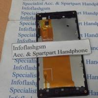 Lcd + Touchscreen Sony Xperia J St26i Fullset +frame
