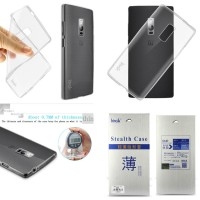 Softcase Imak Gel TPU Soft Jelly Casing Case Cover OnePlus Two / 2