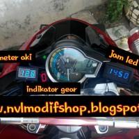 harga jam motor vixion byson ninja cb150r verza r15 r25 Tokopedia.com