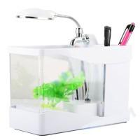 harga Usb Mini Aquarium Wonderful Life - Lileng-918 - White Tokopedia.com