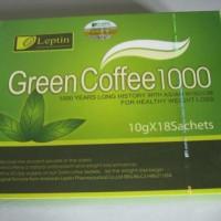 Jual Leptin Green Coffee 1000 (menahan napsu makan) Murah