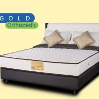 Comforta Kasur Spring Bed Super Fit Gold Firm - Full Set 180x200