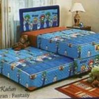 harga Uniland Kasur Spring Bed 2in1 Paradise F 90x200 - Full Set 90 x 200 Tokopedia.com