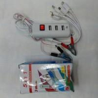 harga Charger Aki 3usb 4in1 Tokopedia.com