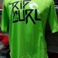 harga Tshirt/t Shirt/kaos Ripcurl (green Highlighter) Tokopedia.com