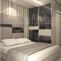 Interior Design Apartemen tipe studio