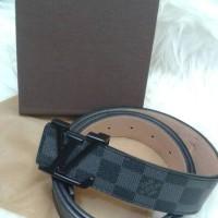 ikat pinggang/gesper pria /wanita  branded import super Damier hitam