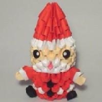 harga 3D origami santa Tokopedia.com