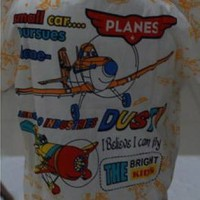 Piyama Katun Anak Motif Planes Size 4,5,6