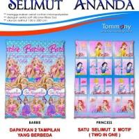 Selimut Ananda - Barbie + Princess