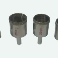 Mata Bor Kaca / Batu Akik / Keramik 4Bt. Ukuran 25-26-28-30mm