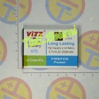 Baterai Cross A7s merek Vizz